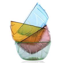 低奢内 耐热无铅玻璃碗4个 24.9元包邮(29.9-5券)