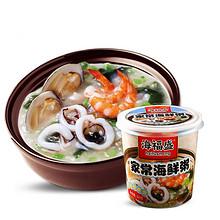 海福盛 方便速食海鲜排骨菌菇粥 12杯装 49.8元包邮(59.8-10券)