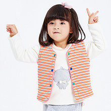 俞兆林 儿童纯棉保暖马甲 25元包邮(35-10券)