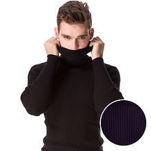 前5分钟# POZAN 加厚保暖针织高领毛衣 18点 39元包邮(69-30)