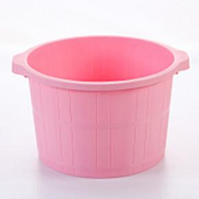 塑料加厚加高按摩足浴桶 拍下12元包邮