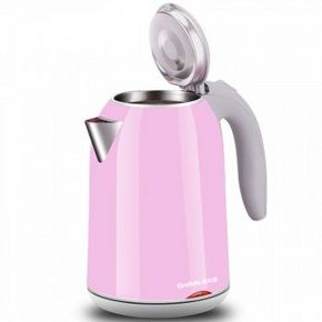 格莱德 双层防烫电水壶 粉色款 1.7L 49元