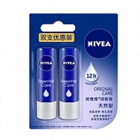 Nivea 妮维雅 润唇膏 天然型 4.8g*2支 19.9元