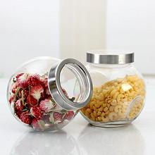发酵蜜罐# 爱乐优 玻璃密封储物罐 200ml*4个 9.8元包邮(11.8-2券)