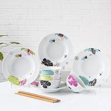 IJARL 亿嘉 创意韩式陶瓷餐具套装12头  折49.9元(99.9,199-100)