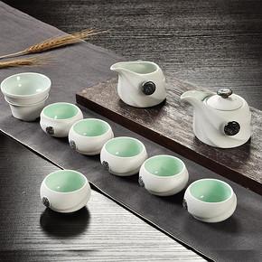 陶瓷茶具雪花釉茶壶 7件套装 券后29.8元包邮