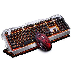德意龙 牧马人M705键盘鼠标2件套装 券后49.6元包邮