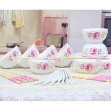 圣铭 中式陶瓷餐具套装 58.8元包邮(68.8-10券)