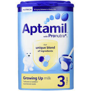 Aptamil 爱他美 婴幼儿奶粉 3段 900g 110.7元(99+11.7)