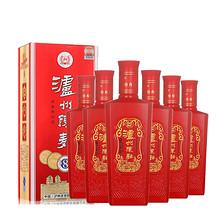 泸州老窖 浓香型白酒52度 6瓶 159元包邮(219-60券)