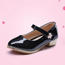 卓诗尼 公主风女童小皮鞋 59元包邮(89-30券)
