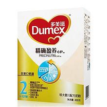 多美滋 精确盈养 心护 较大婴儿配方奶粉 2段 400g 35.8元