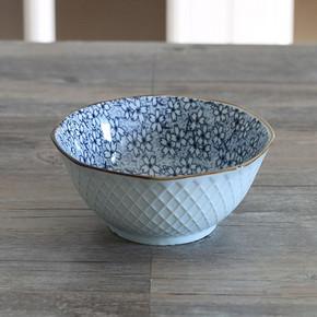 miske 日式和风 釉下彩陶瓷碗 4元包邮