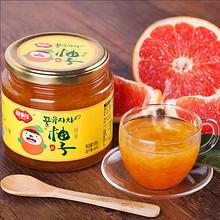 福事多 蜂蜜柚子茶 500g 14.9元包邮(19.9-5券)