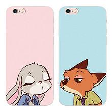 小雨点 疯狂动物城 iphone6s/7plus手机壳 10元包邮(15-5券)