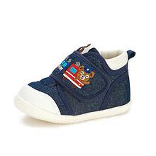 防滑透气# 波贝熊 儿童防滑透气帆布鞋 38元包邮(88-50券)