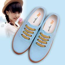 锐捷 韩版女款低帮帆布鞋 29元包邮(59-30券)