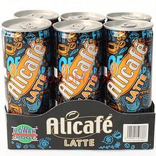 Alicafe 啡特力 拿铁罐装咖啡饮料 240ml*6 折17.5元