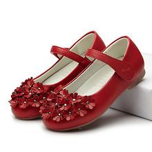 多色可选# 红蜻蜓 女童春季韩版公主小皮鞋 79元包邮(109-30券)