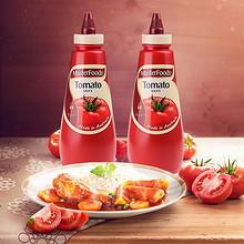 纯天然原料# Masterfoods 番茄酱调料 500ml*2瓶 26元包邮(59-40券+7)