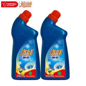 洛娃 洁厕霸柠檬香 500g*2瓶 9.9元