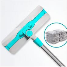 居家必备# 佳帮手 干湿两用平板拖+送清洁刮刀 19.9元包邮(29.9-10券)