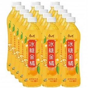 限地区#康师傅 冰糖金橘饮料500ml*15瓶 24.9元