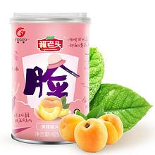 裕国 靠脸吃饭黄桃罐头大礼盒425g*4罐 29.9元包邮(39.9-10券)