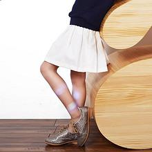 balabala 巴拉巴拉 女童可爱百褶短裙 30元包邮