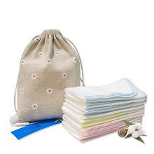 全棉适爱 婴儿纱布口水巾 10条 19元包邮(22-3券)