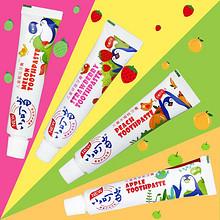 小叮当 儿童无氟加钙固齿牙膏 4支 17.8元包邮(22.8-5券)