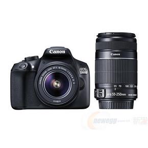 Canon 佳能 EOS 1300D 单反相机 双镜头套机 3499元包邮