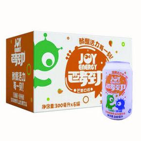 酵劲 生物发酵乳益生菌饮品 芒果味 300ml*6罐 9.9元