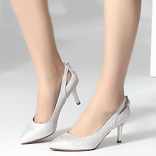 珂卡芙 韩版女士尖头高跟鞋 99元包邮(149-50券)