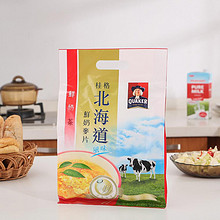 桂格 台湾进口北海道鲜奶茶味麦片 26g*12袋 21.9元包邮(43.9-22)