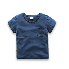 First Movements 儿童纯色圆领短袖T恤 19元包邮(49-30券)