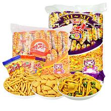 童年小吃# 咪咪虾条大礼包 60包 19.8元包邮(39.8-20券)