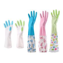 柏康 家务防水橡胶塑胶薄款手套 3.9元包邮(4.9-1券)