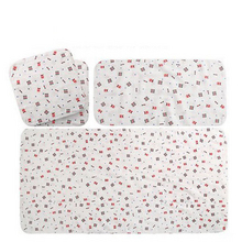 妈妈囤货# 沐童 纯棉纱布婴儿浴巾方巾 4件套 29元包邮(59-30券)