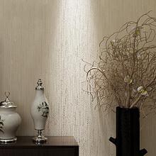 安尅 现代简约纯色无纺布客厅卧室墙纸 7元包邮(37-10券)