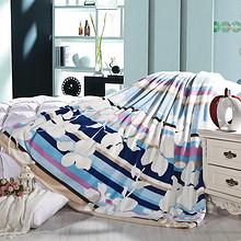 馨格 珊瑚绒法兰绒毛毯被子 180*200cm 39元包邮(69-30券)