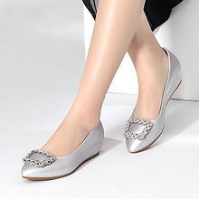 时尚百搭# 珂卡芙 浅口尖头坡跟女单鞋 99元包邮(179-80券)
