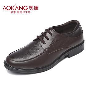 Aokang 奥康 男士秋季商务正装真皮皮鞋 券后179元包邮
