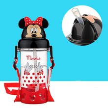 迪士尼 带吸管防漏耐摔儿童水杯 400ml 19元包邮(29-10券)