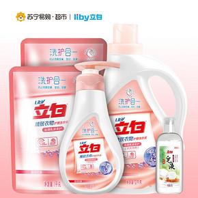 立白 精致丝滑液 4.5kg+皂液95g 折34.5元(69,下单5折)