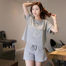 衣絮 夏季宽松短袖休闲运动套装 39元包邮(69-30券)
