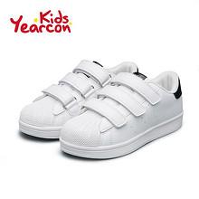 前5分钟半价# 意尔康 儿童贝壳头小白鞋 99返49.5元