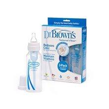 Dr.Brown'S 布朗博士 婴儿标准口奶瓶 240ml*6只 110元(210-100)
