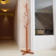 歪脖树 实木衣帽架 树型设计 新西兰进口松木 79元