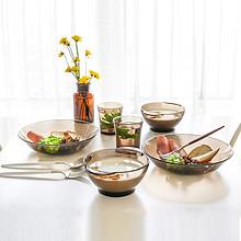前10分钟半价# DURALEX 钢化玻璃餐具6件套 1日0点 49.5元(99-49.5)